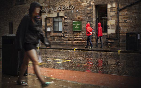 Rainy days in Edinburgh....