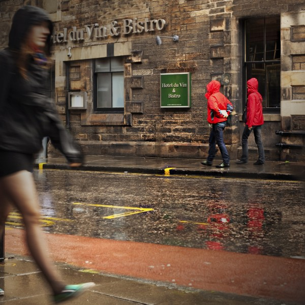 Rainy days in Edinburgh....