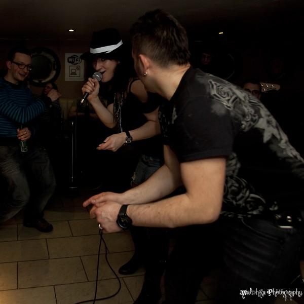 The Cruz Bar in Edinburgh and Basic Funk on board