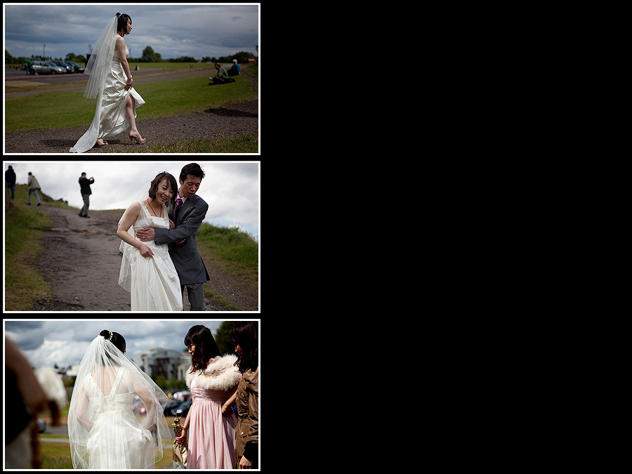 Holyrood Park Edinburgh Wedding