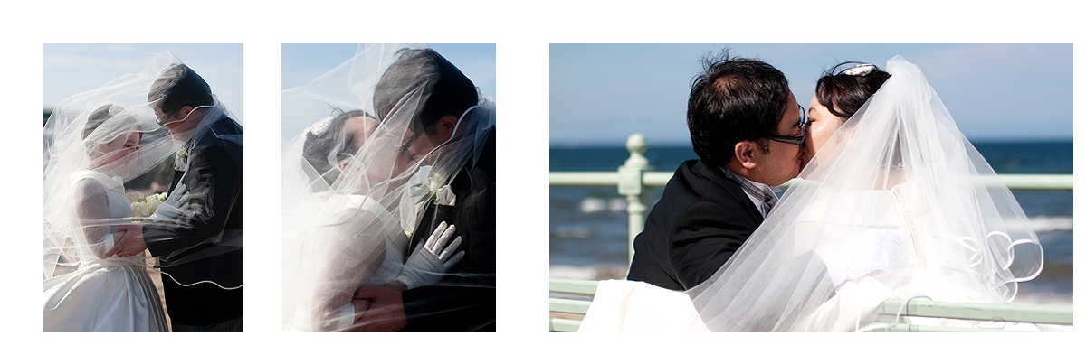 Lovely  Japanese couple wedding photos in Edinburgh