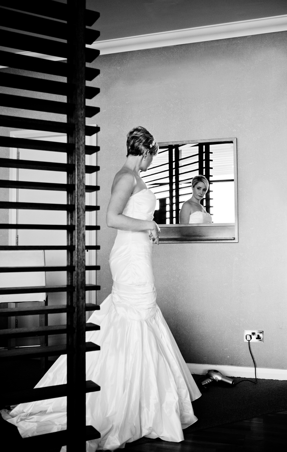 Bride at Glass House Hotel Edinburgh
