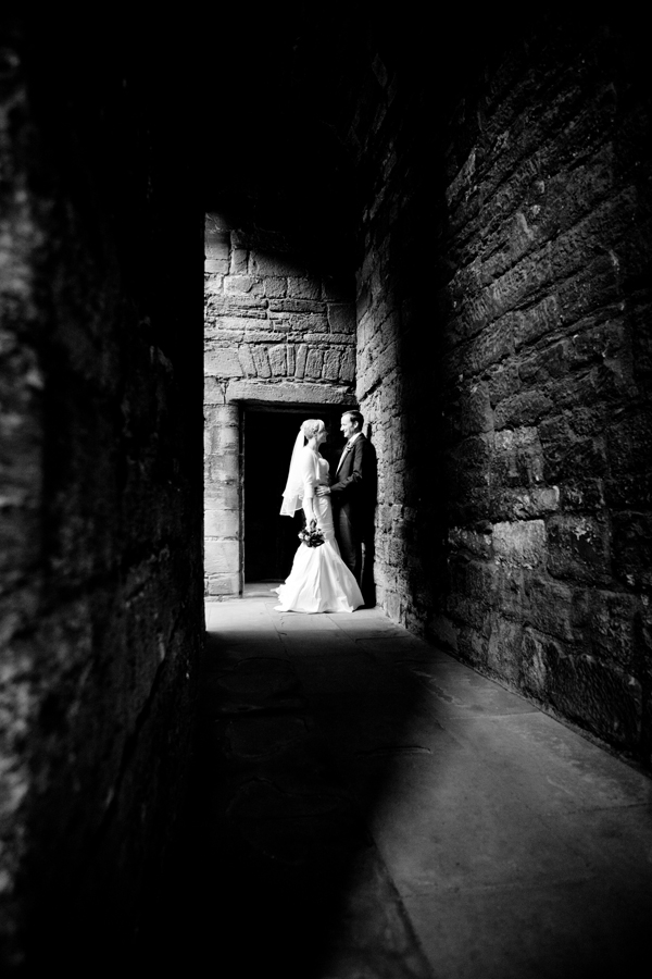 Romantic portraits at Linlithgow Palace