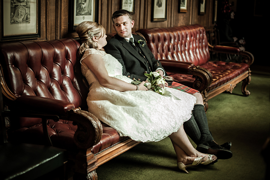 Wedding photos at Royal College of Physicians of Edinburgh