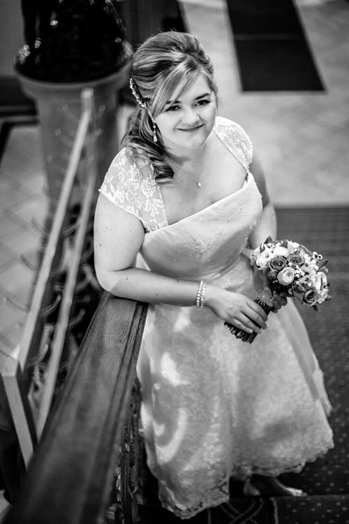 Lovely bride at Royal College of Physicians of Edinburgh