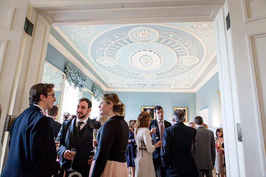 Drinks reception at Royal College of Physicians of Edinburgh
