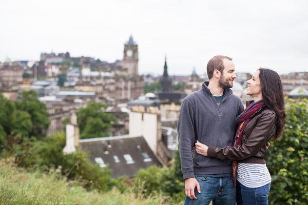 Exploring Calton Hill in Edinburgh