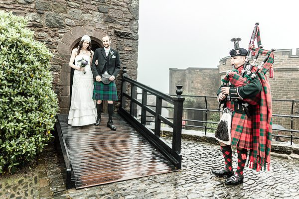 Wedding at the  Edinburgh Castle