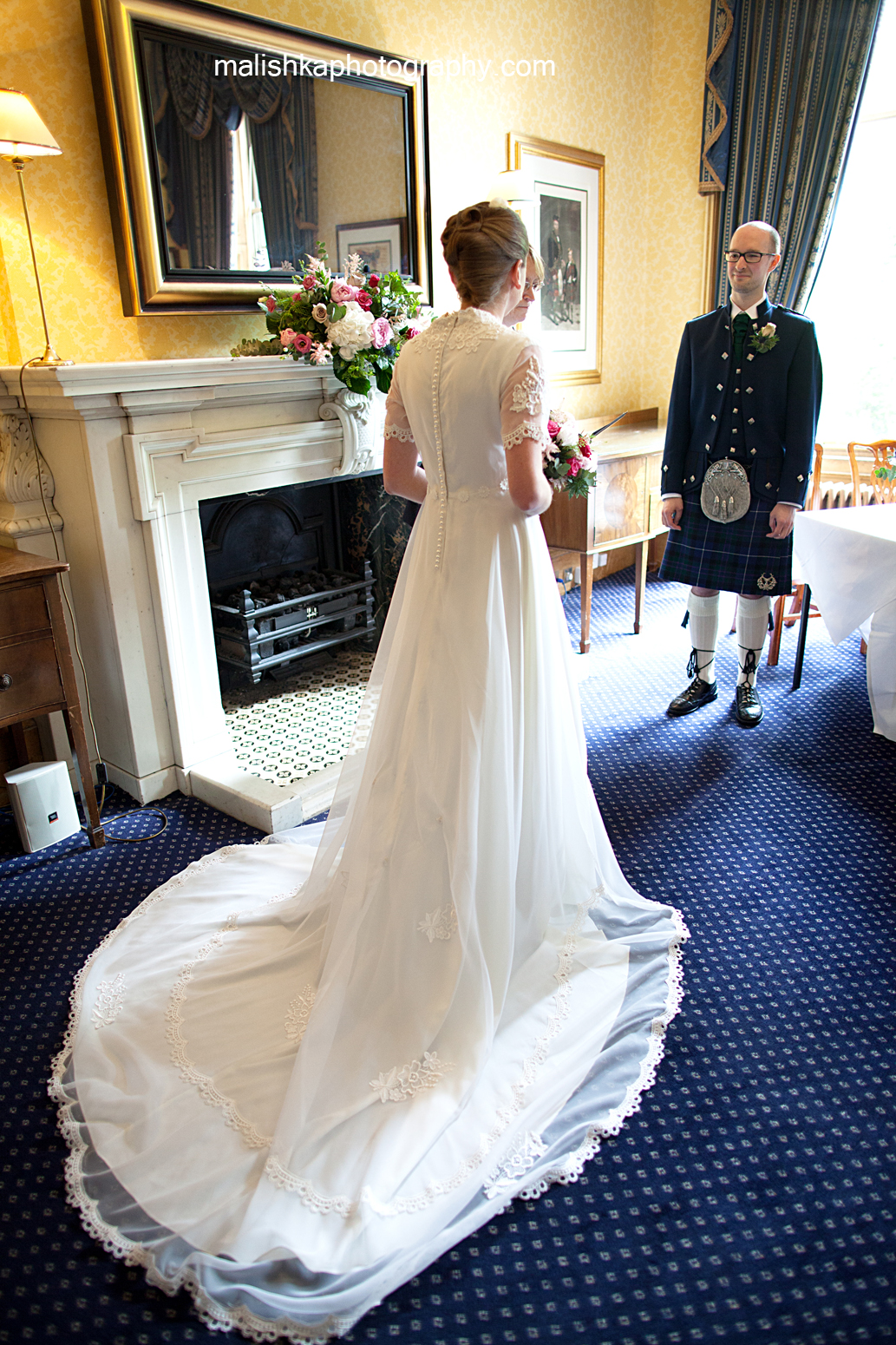 Queen Street Gardens and Royal Scots Club Edinburgh