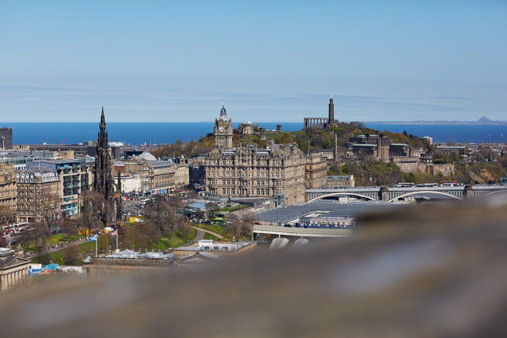 Edinburgh photographer captures the Edinburgh Old Town and Calton Hill