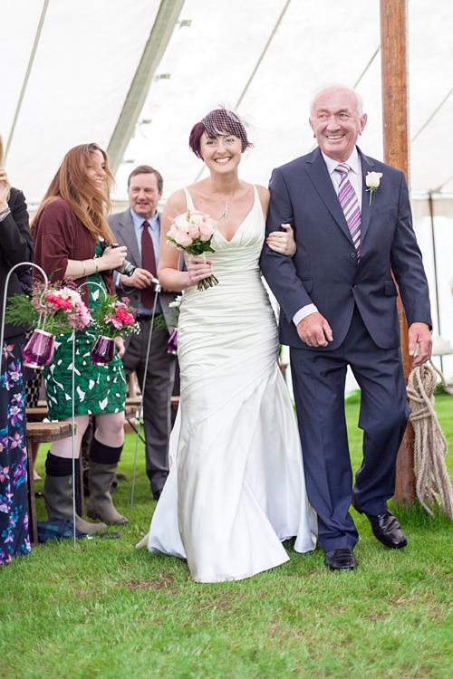 Rustic wedding at Mavis Hall Park