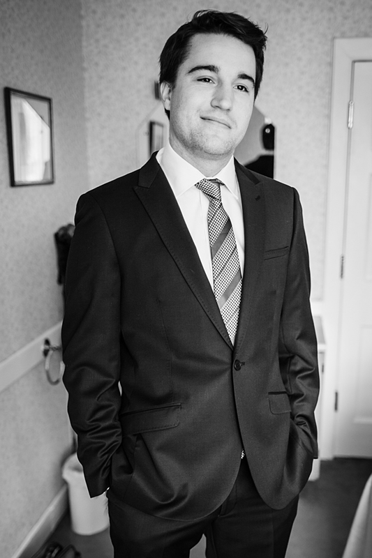 Groom portraits at Harburn House Wedding