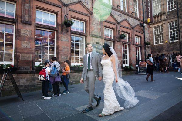Wedding at the Hub in Edinburgh