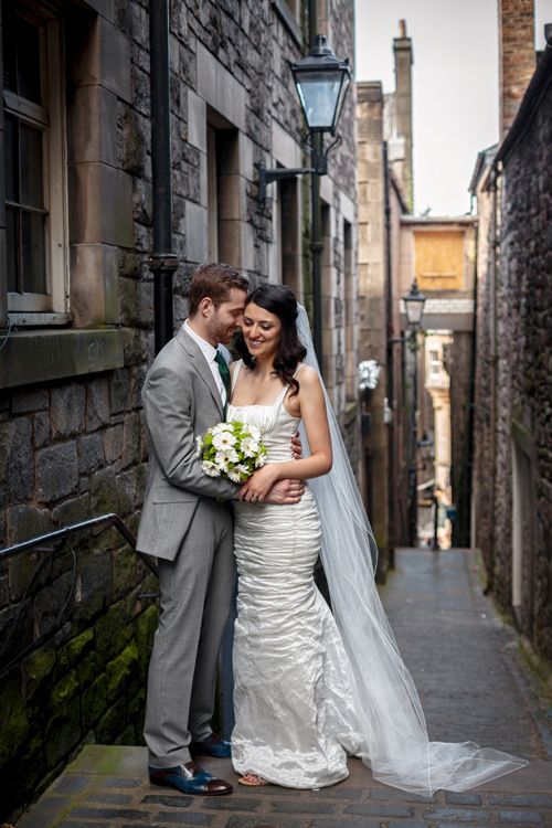 Royal Mile wedding photos