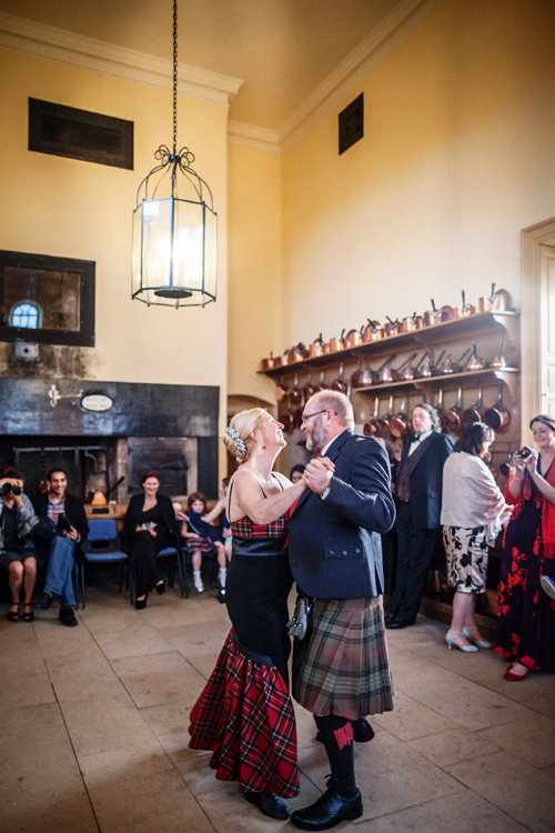 First dance at Culzean Castle Wedding