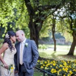 Wedding photography in the city of Edinburgh