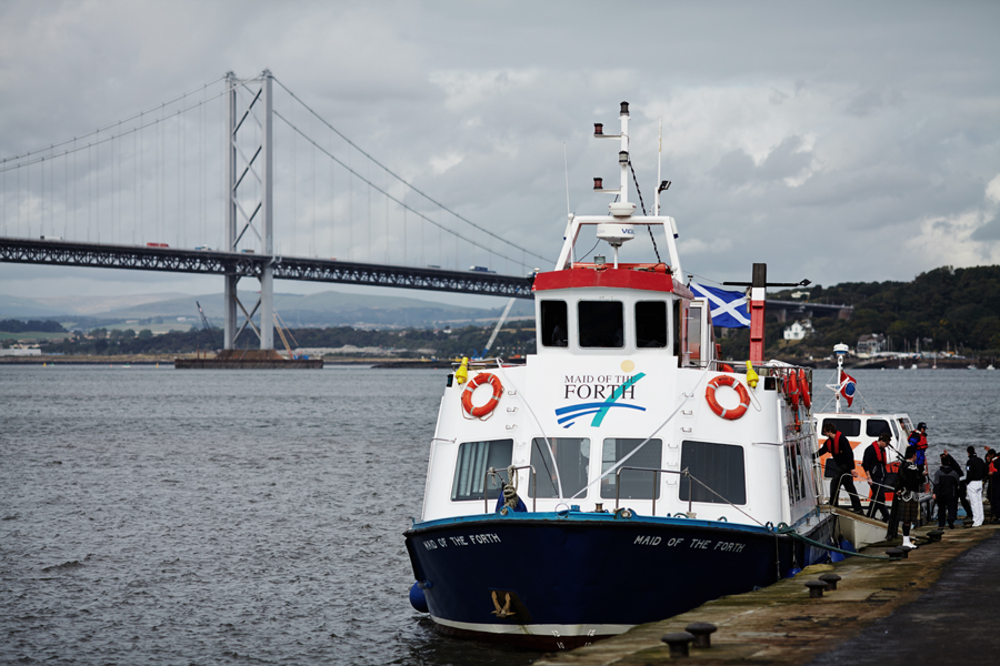 Maid of the Forth at South Queensferry