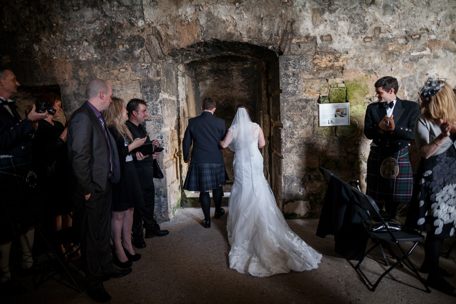 Inchcolm Abbey wedding photos