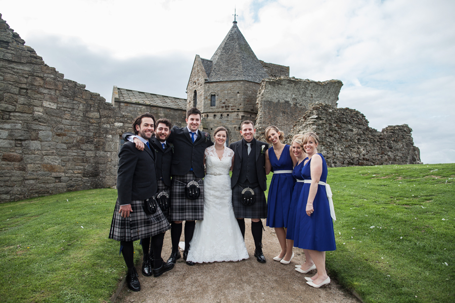 Inchcolm Island wedding photography