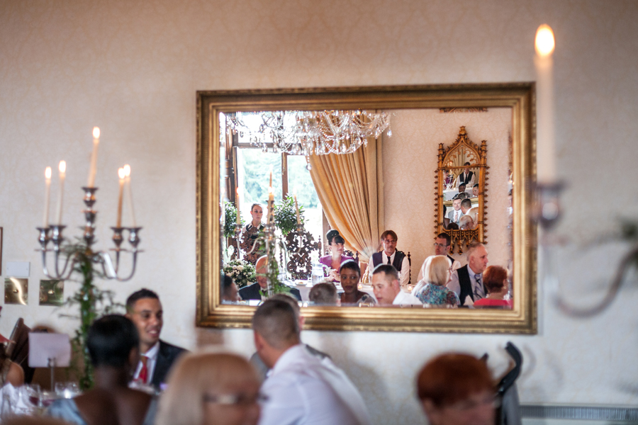 Wedding photos from Dalhousie Castle wedding breakfast