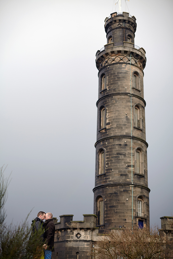 Civil partnership photography in Edinburgh
