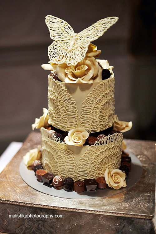 Wedding cake by Chocolate Tree in Edinburgh