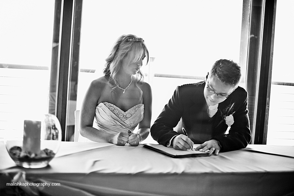 Orocco Pier wedding
