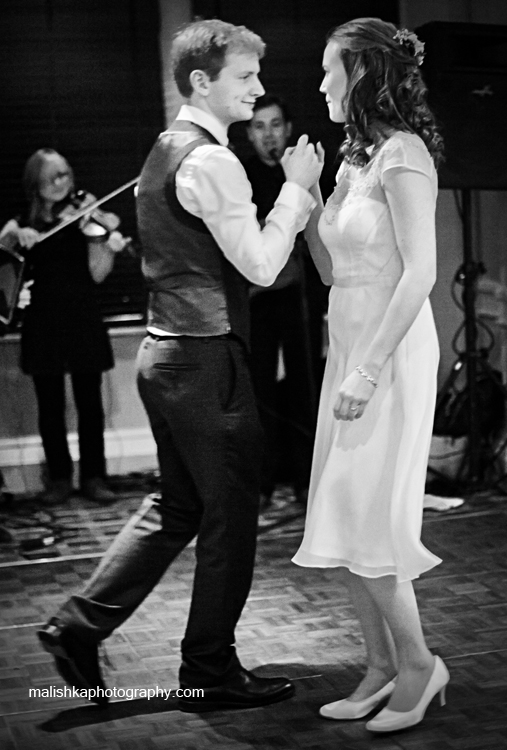 First dance at Bruntsfield Hotel in Edinburgh