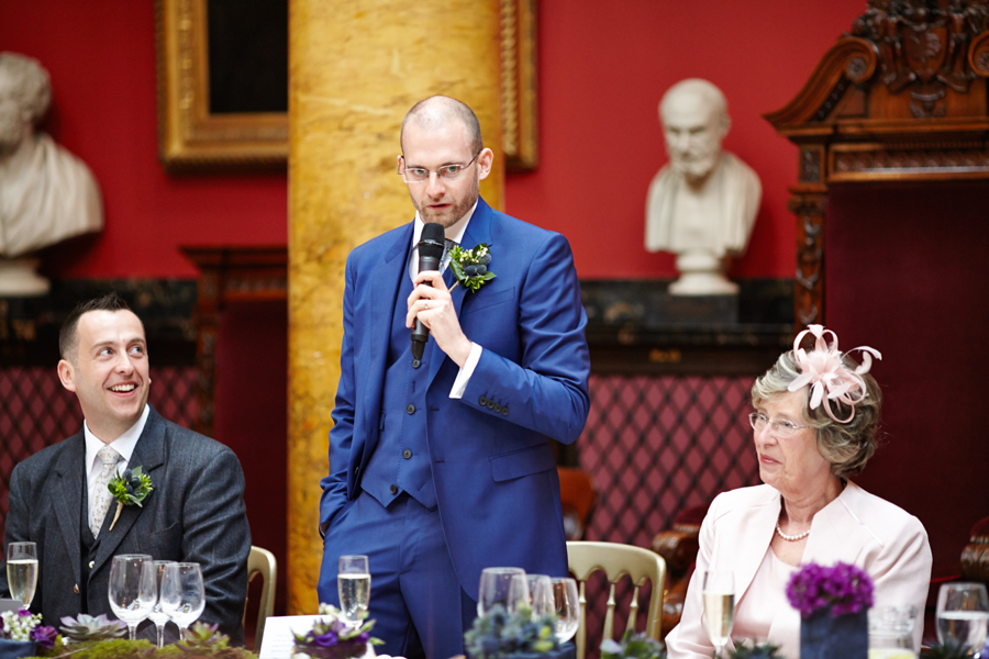 Groom's speech at Royal College of Physicians in Edinburgh