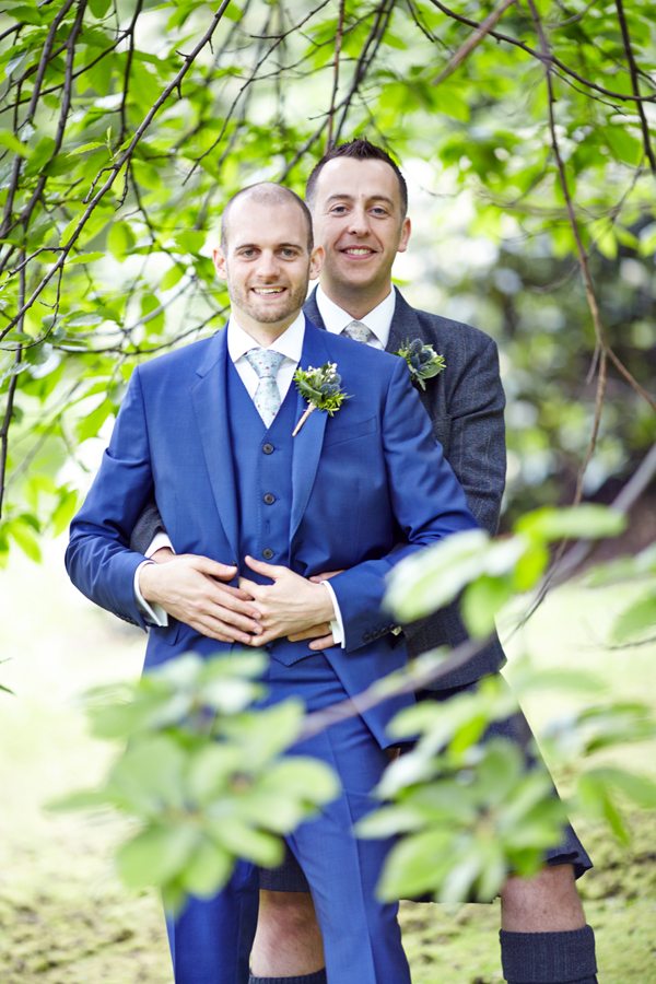 Lovely same-sex couple wedding photos in Edinburgh