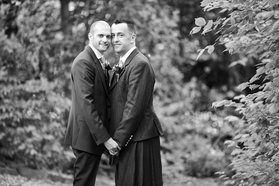 Civil partnership photos in Edinburgh
