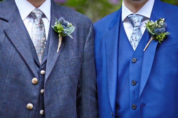 Civil partnership at Royal College of Physicians in Edinburgh