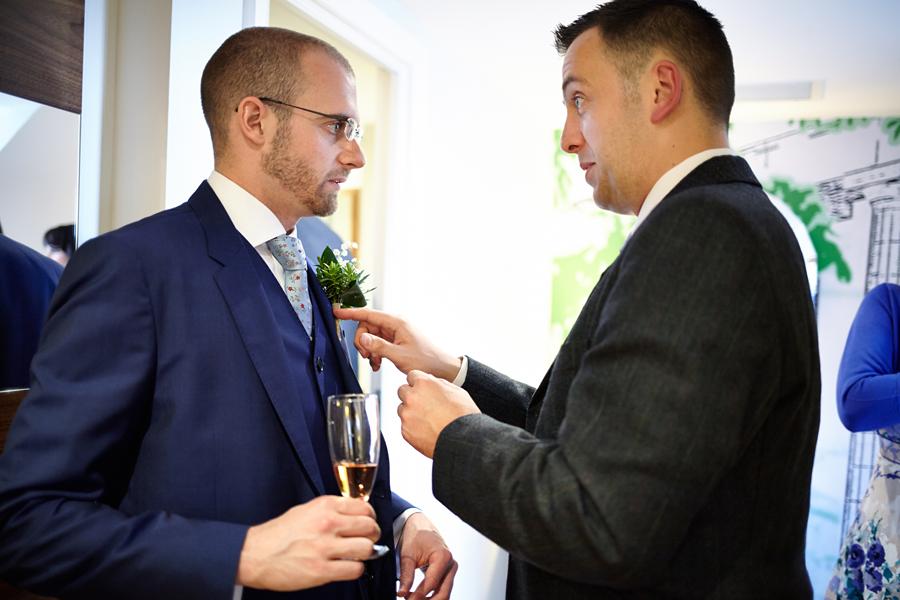 Same-sex couple wedding in Edinburgh