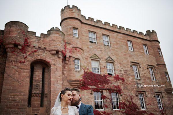 Dalhousie Castle wedding photos