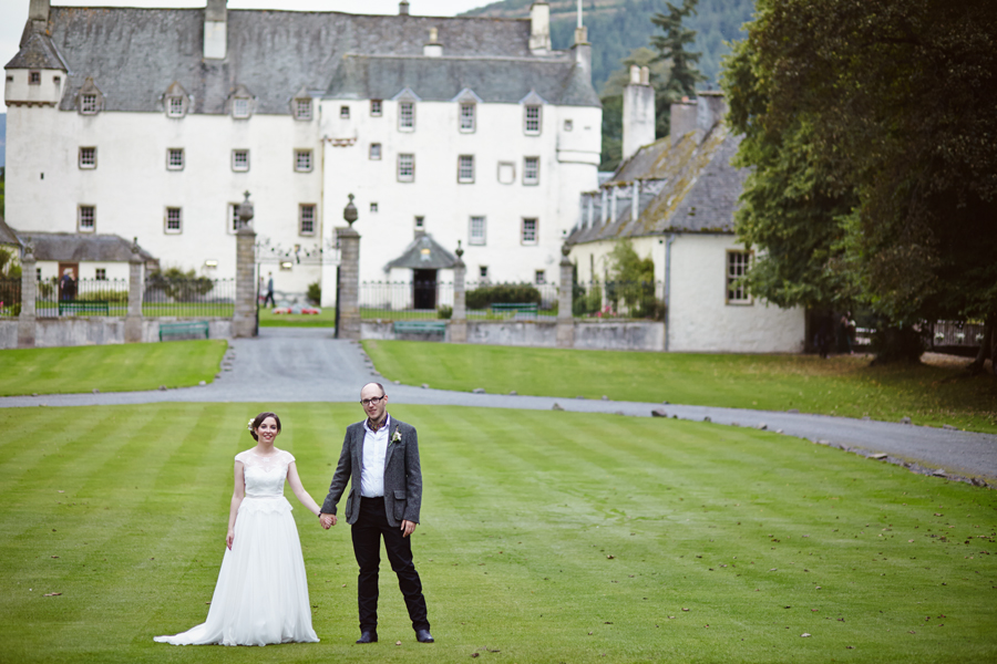Traquair House Wedding