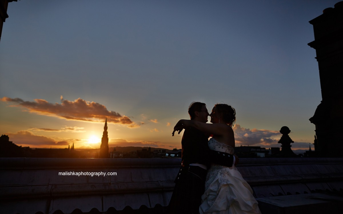 Wedding at the Balmoral in Edinburgh