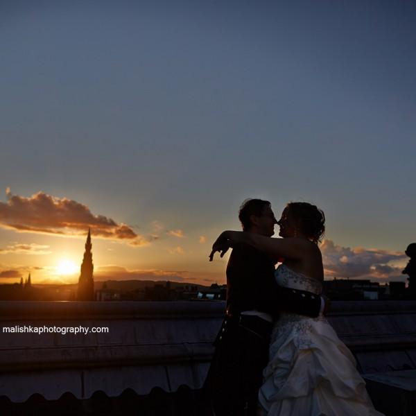 Wedding at the Balmoral in Edinburgh