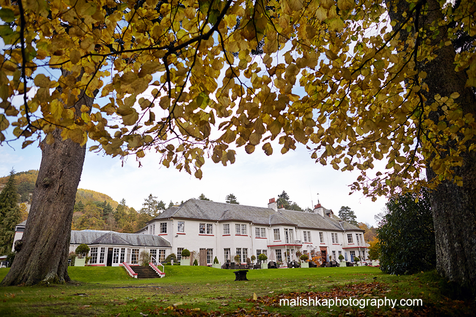 Hilton Dunkeld House Hotel wedding photos