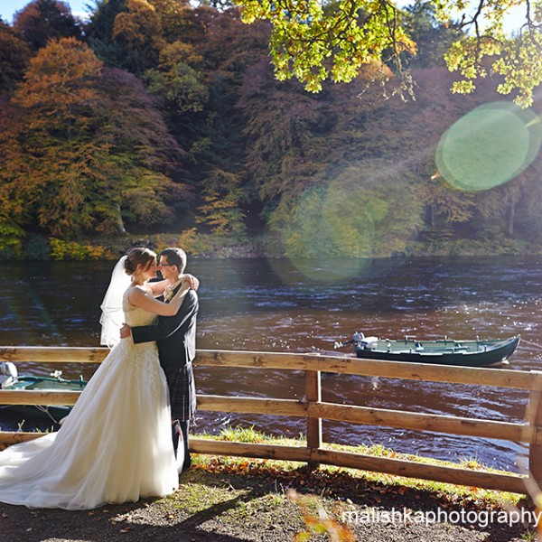 Wedding at Hilton Dunkeld House Hotel