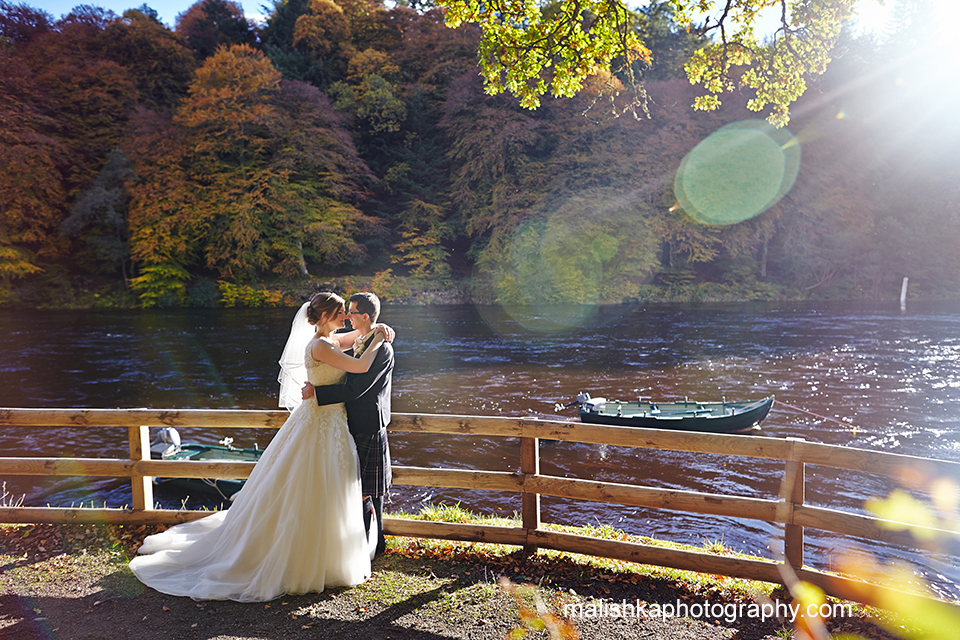Wedding at Hilton Dunkeld House Hotel
