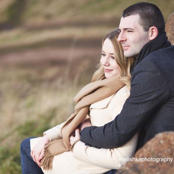 Couple portraits in Edinburgh
