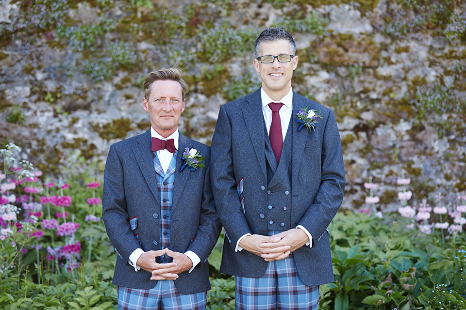 Happy couple at Kinross House wedding