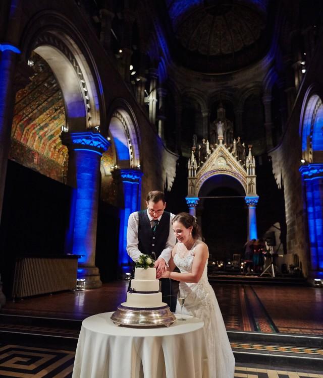Mansfield Traquair wedding