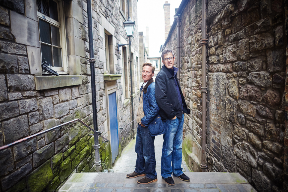 Gay couple photo session Edinburgh