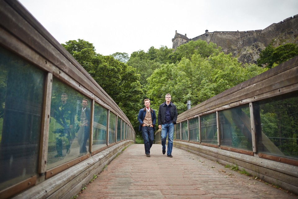 Portraits session in Edinburgh