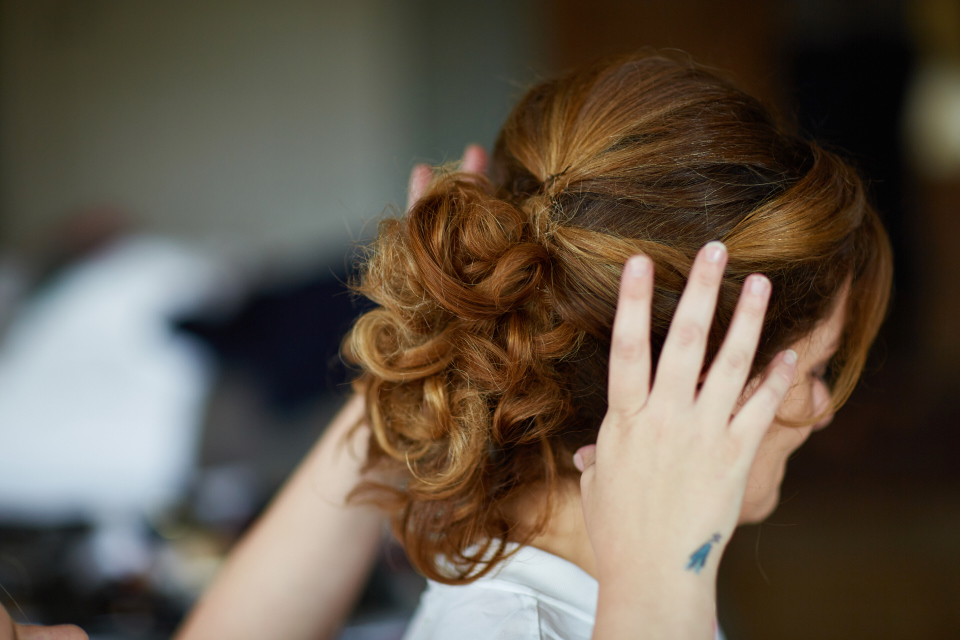Bridal hair Dunkeld
