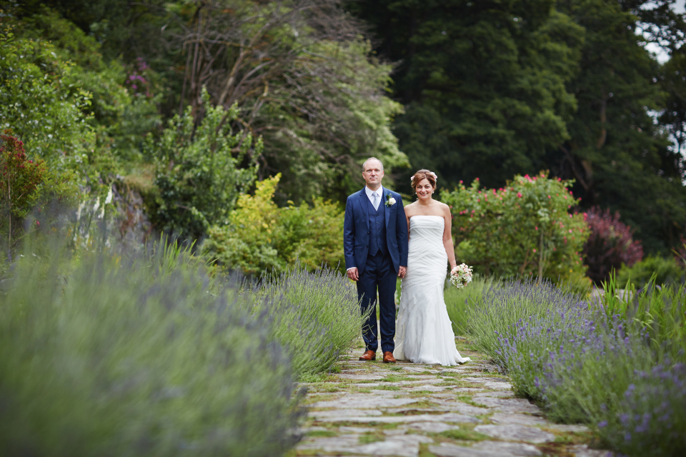 Bride & groom portraits at Eastwood House