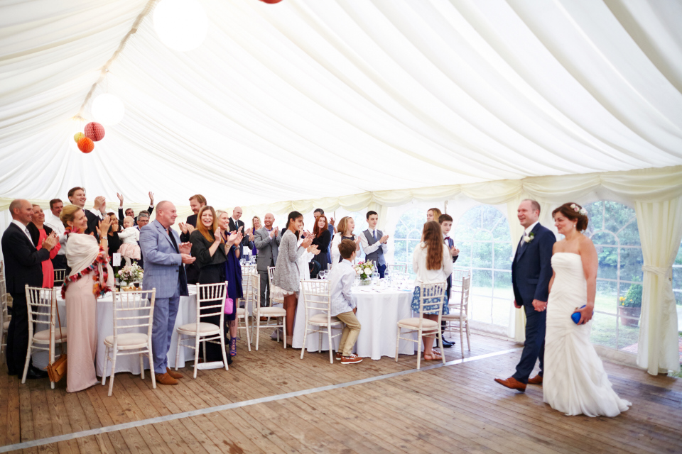 Eastwood House wedding reception