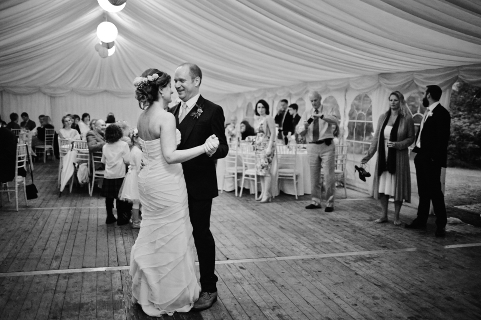 Bride&Groom first dance at Eastwood House Wedding