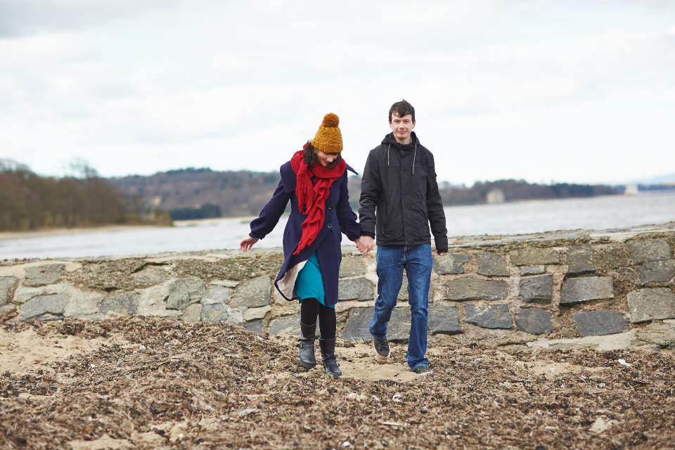 Cramond couple session